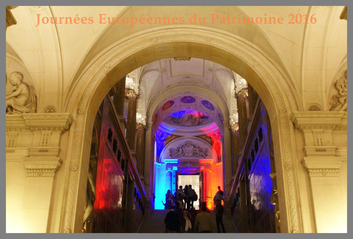 Visite de la Mairie de Paris. JEP 2016