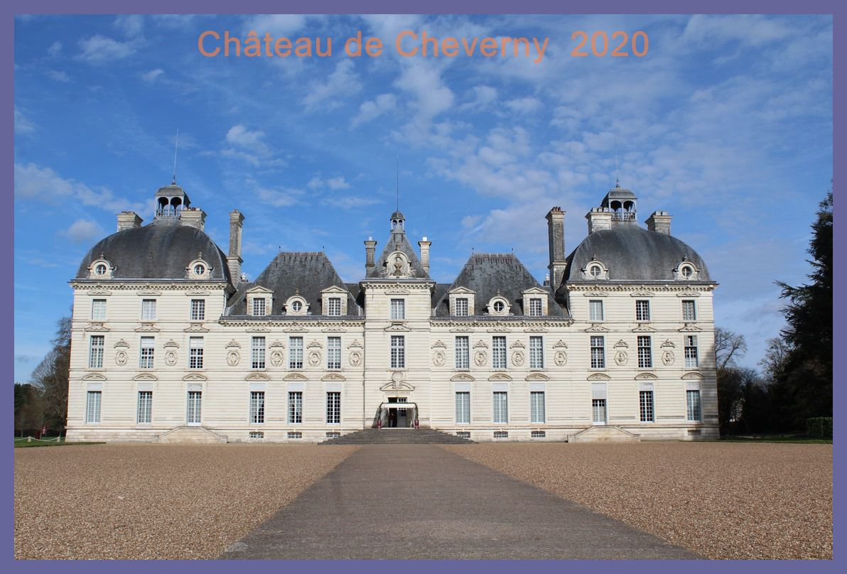 Château de Cheverny. 2020