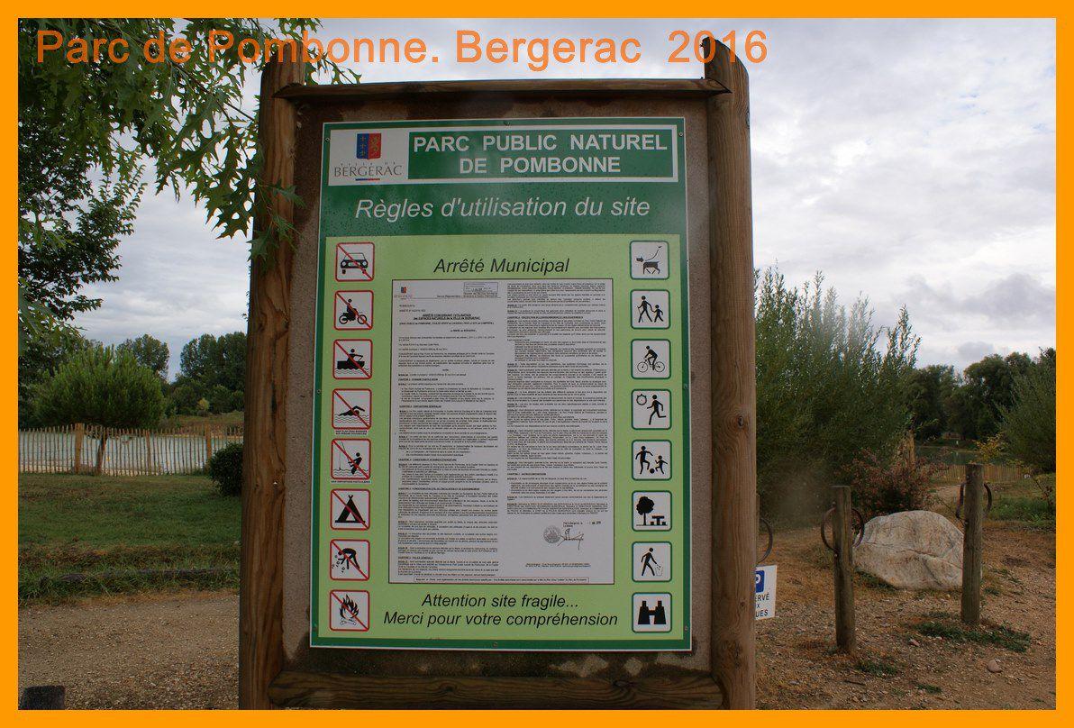 Parc de Pombonne. Bergerac 2016