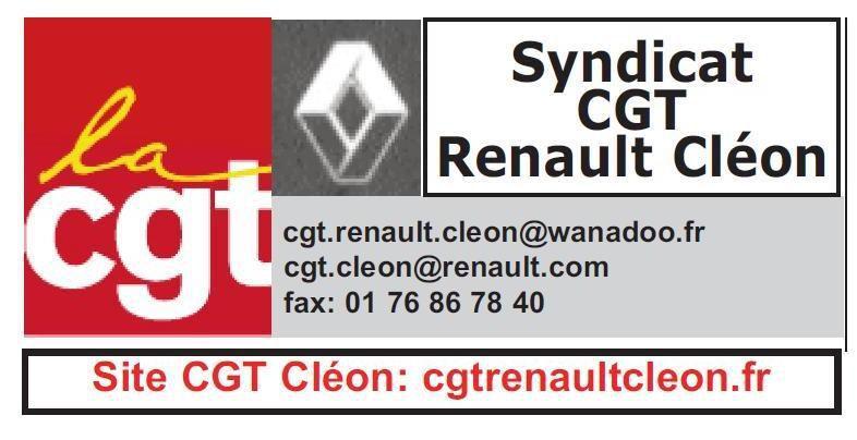CGT Renault-Cléon - Appel à la grève intersyndicale du 16 Novembre