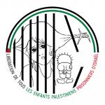 Tournée d'un JEUNE PALESTINIEN, dans le cadre de la campagne pour la libération des enfants palestiniens emprisonnés par Israël