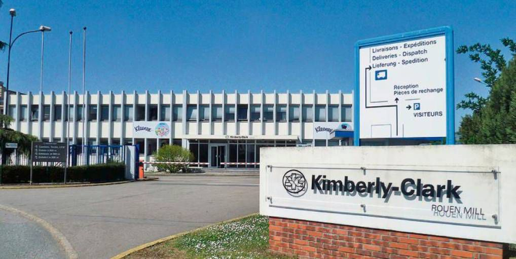 """Kimberly Clark, multinationale américaine a racheté l'entreprise Sopalin ( """"Société du papier linge"""" ) ..."""