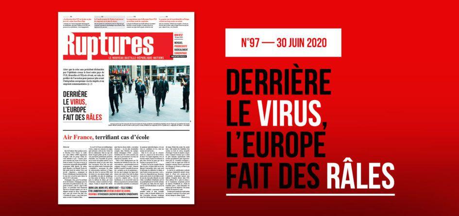 Ruptures : l'édition de juin est parue
