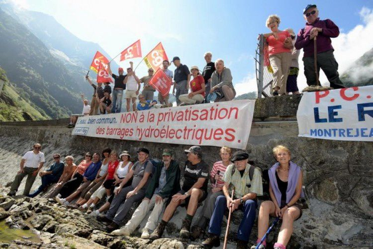 Le plan Hercule a déjà commencé - La privatisation des barrages est en route