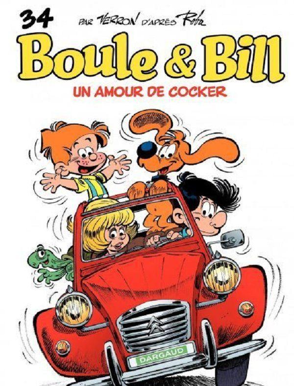 La 2cv rouge, star de BD et de cinéma avec Boule et Bill !
