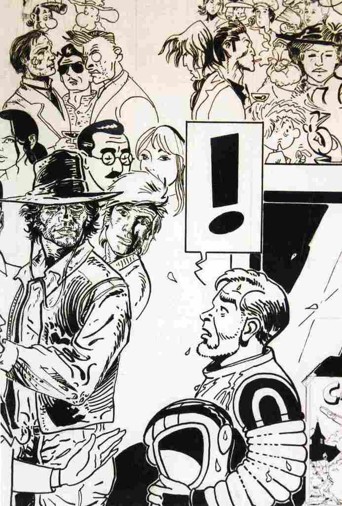 Nature morte Blake et Mortimer - 5 avril 2015
