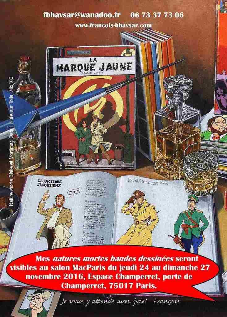 Expo du 24 au 27 novembre 2016 Espace Champerret Paris. Invitations gratuites sur macparis.org