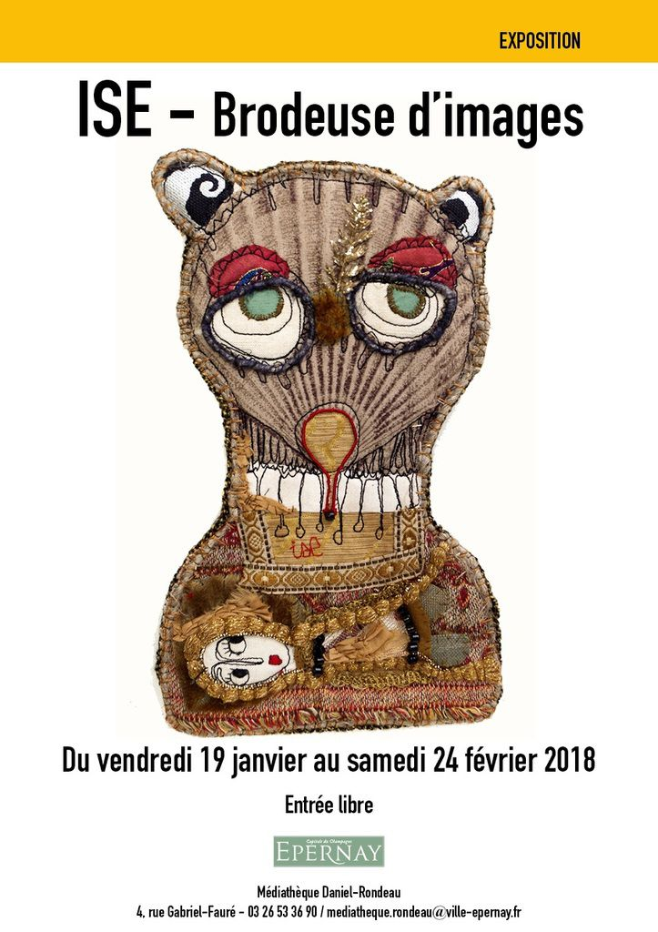 Ise, Isabelle Cellier, expose à Epernay