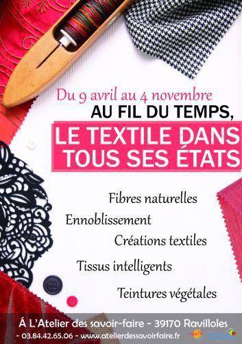 L'Atelier des Savoir-Faire à Ravilloles : les fibres dans tous leurs états !