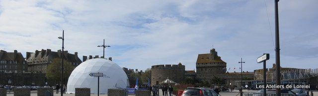Une vue du dome et d'intra muros