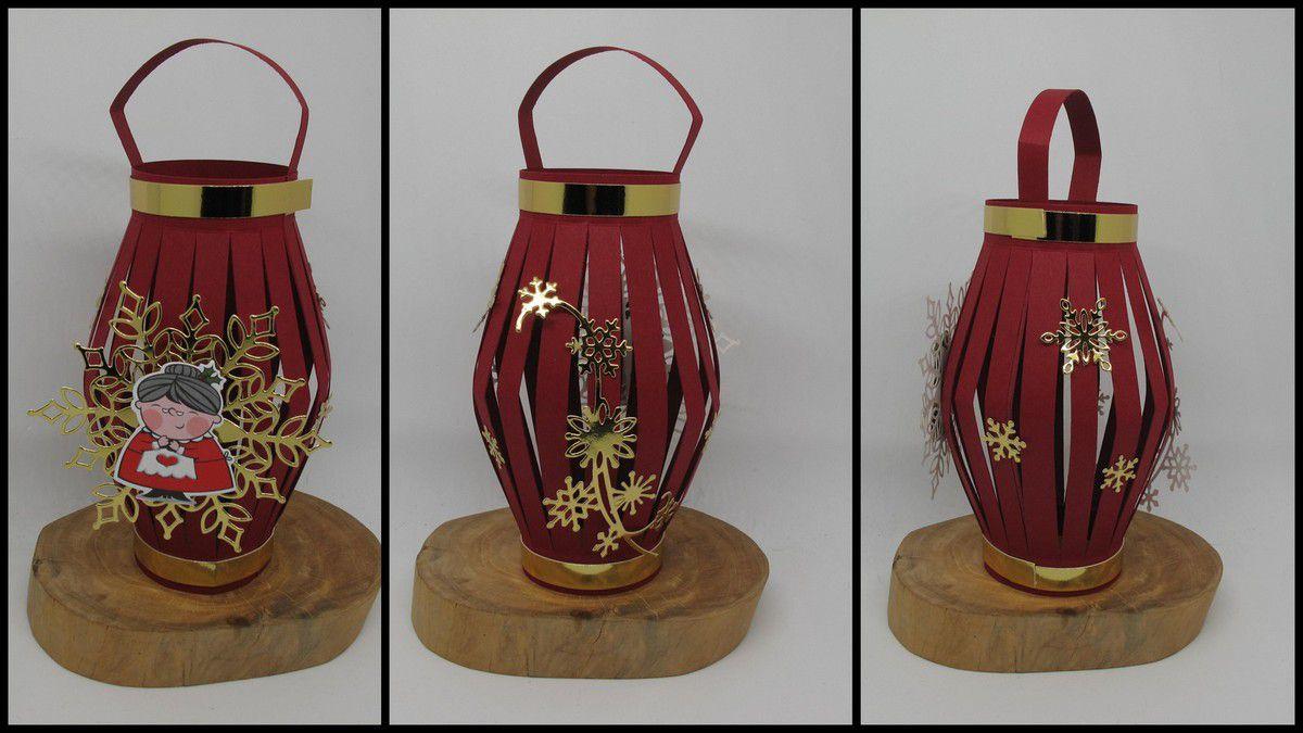 Cadeau Hôtesse : Lanterne de noël