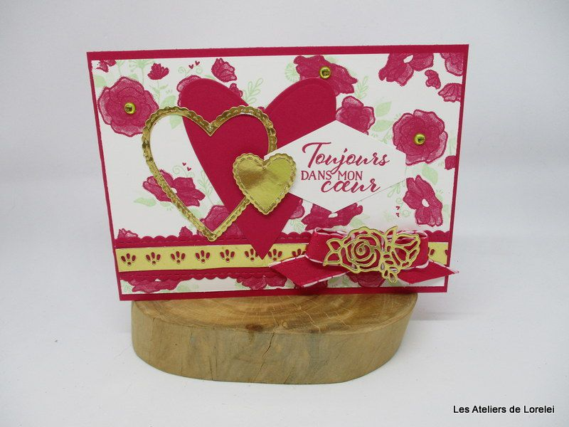 "collection ""offre moi ton coeur"" chez Stampin up!"