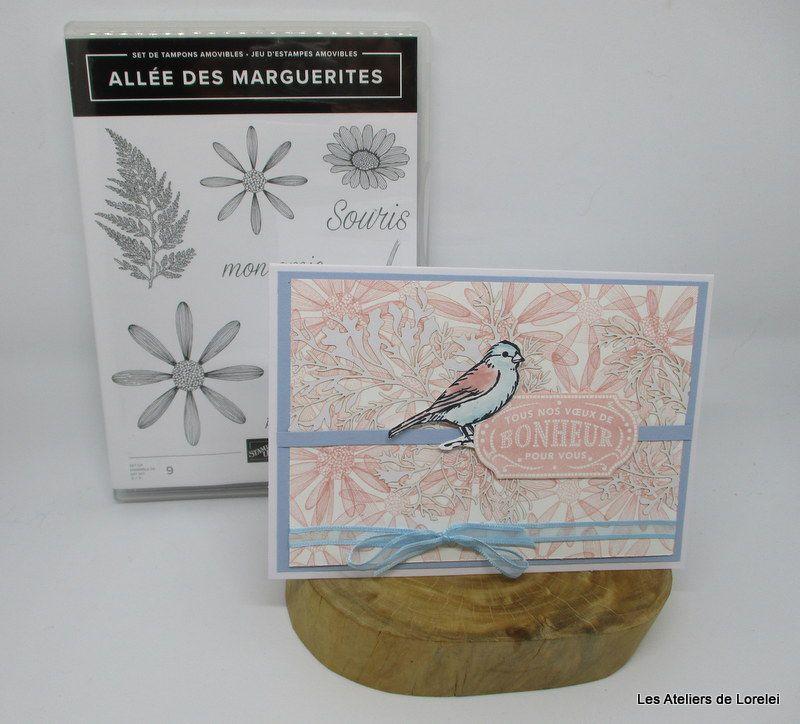 """Allée des marguerites"" chez stampin'up"