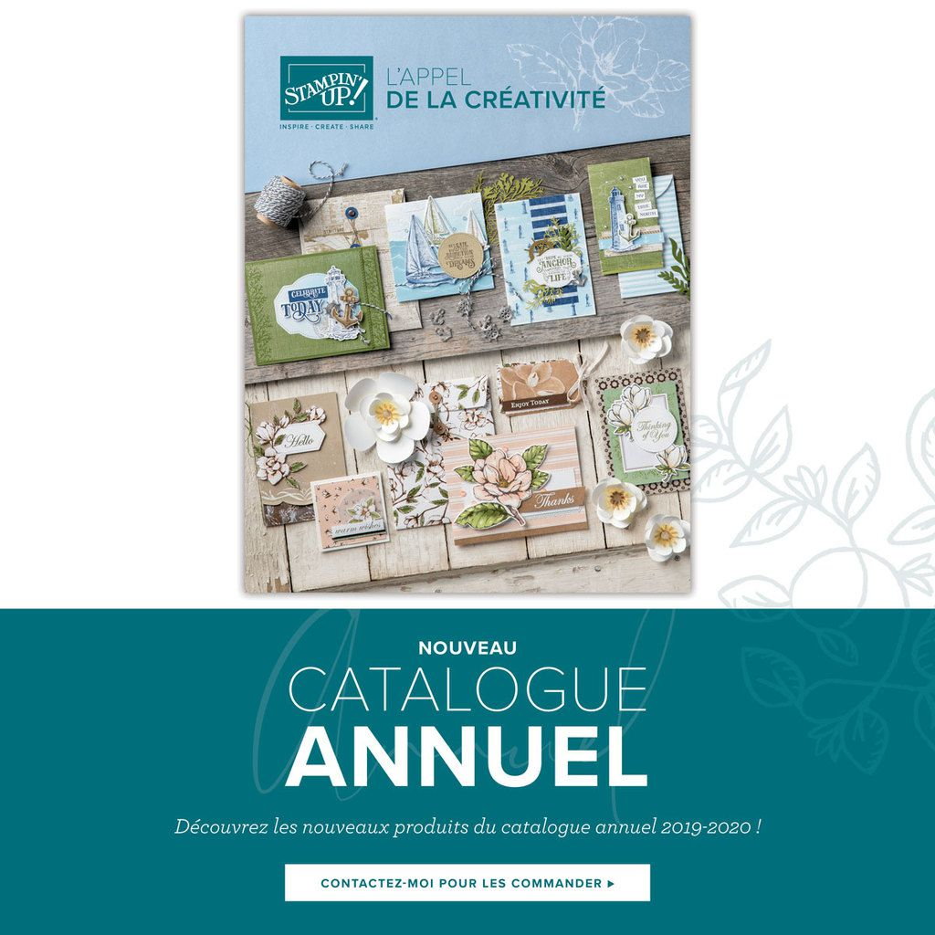 Catalogue annuel Stampin'Up 2019/20 valable jusqu'au 31 mai 2020