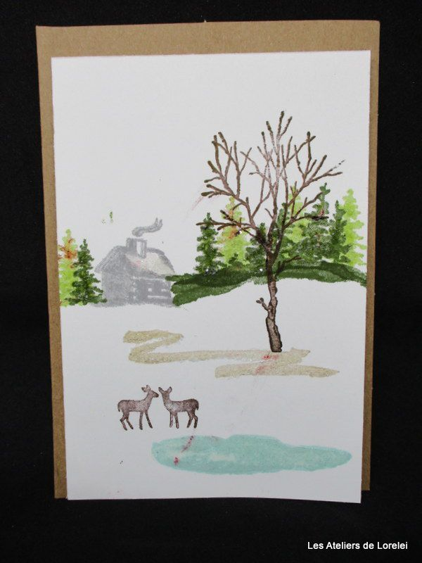 """""""Snow Front"""" 1 chez Stampin'up"""