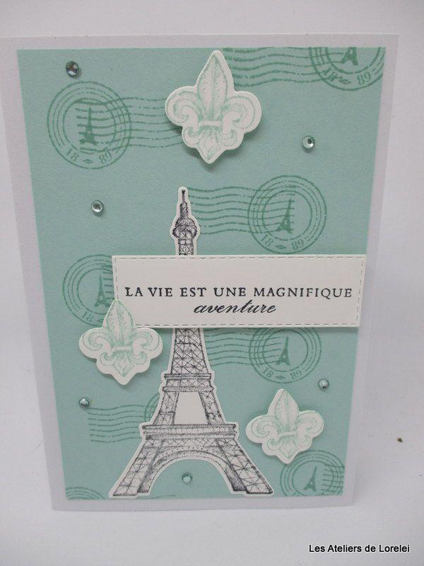 """""""Beauté parisienne"""" et """"Fleurs pour toujours"""" chez Stampin 'Up!"""