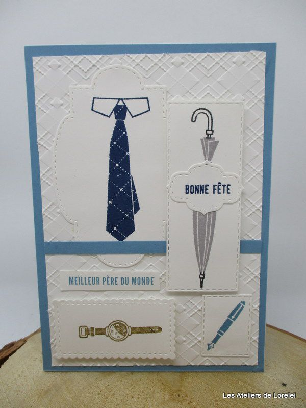 """Well dressed"" chez Stampin'Up!"
