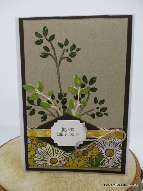 """Bird and branche"" chez Stampin'Up!"