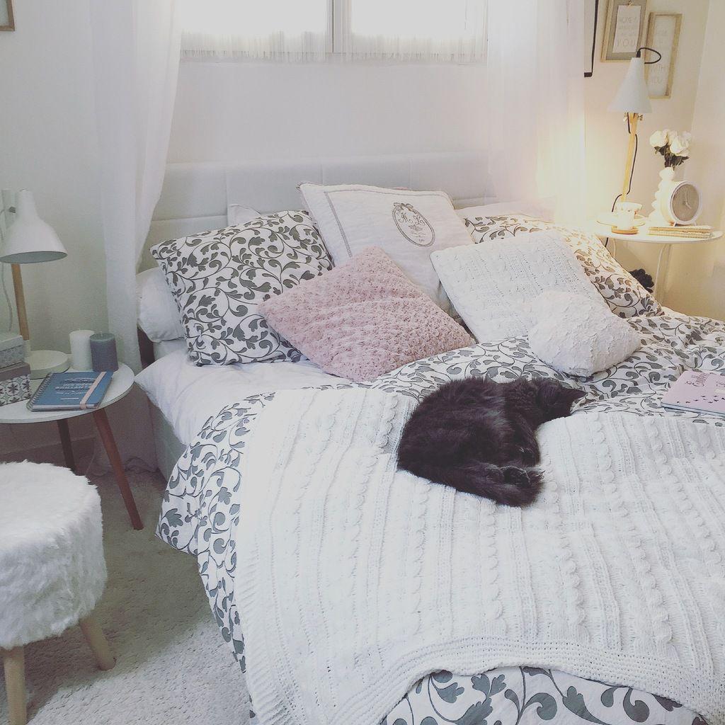 Decoration Chambre Coucher decoration chambre à coucher style scandinave - cristal cos