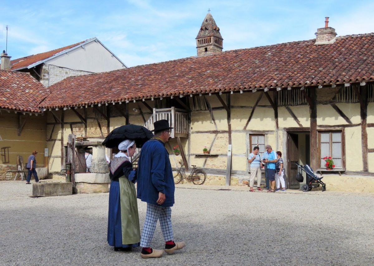 danses bressanes à la ferme du Champ Bressan à Romenay (71)