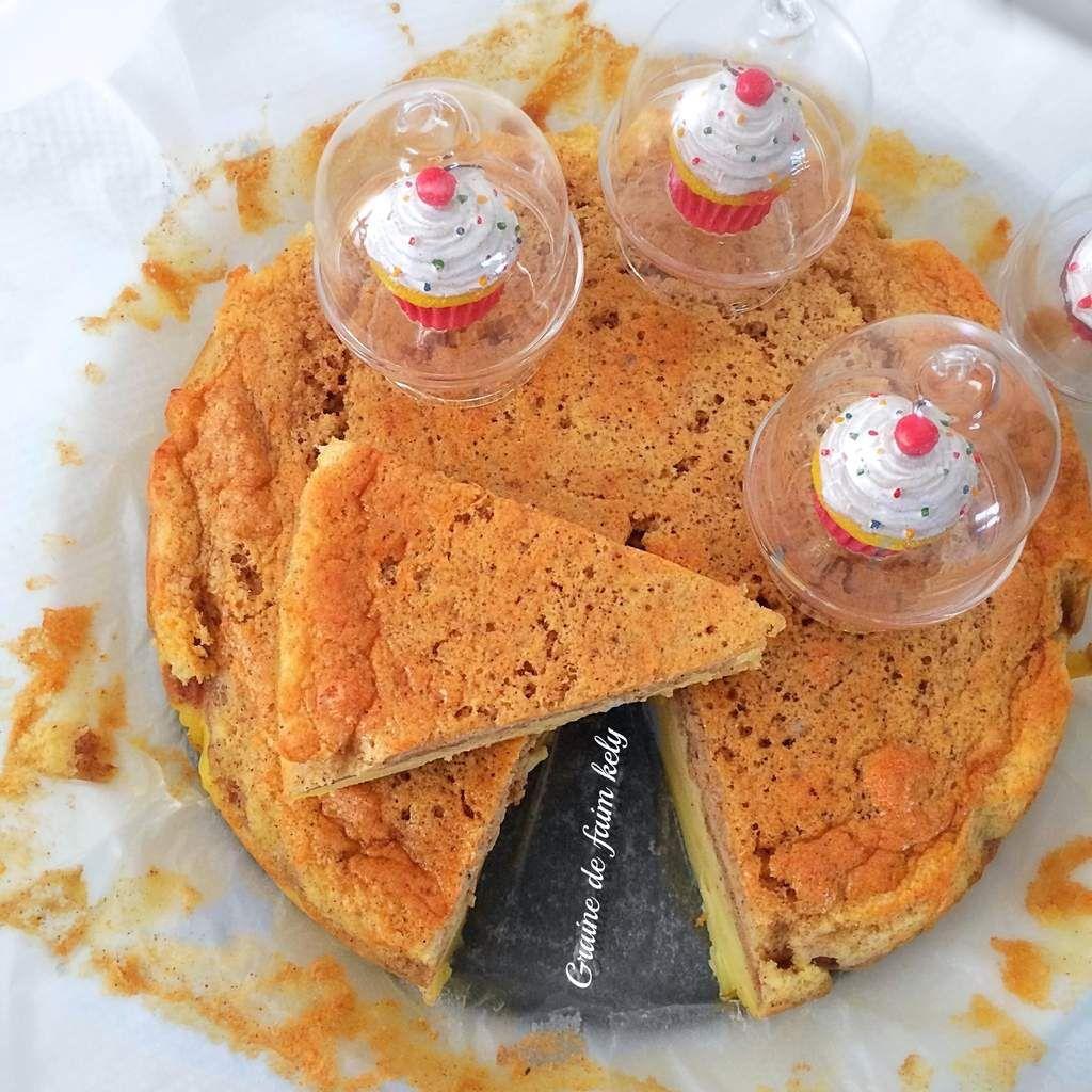 Gâteau magique aux clémentines et pain d'épices
