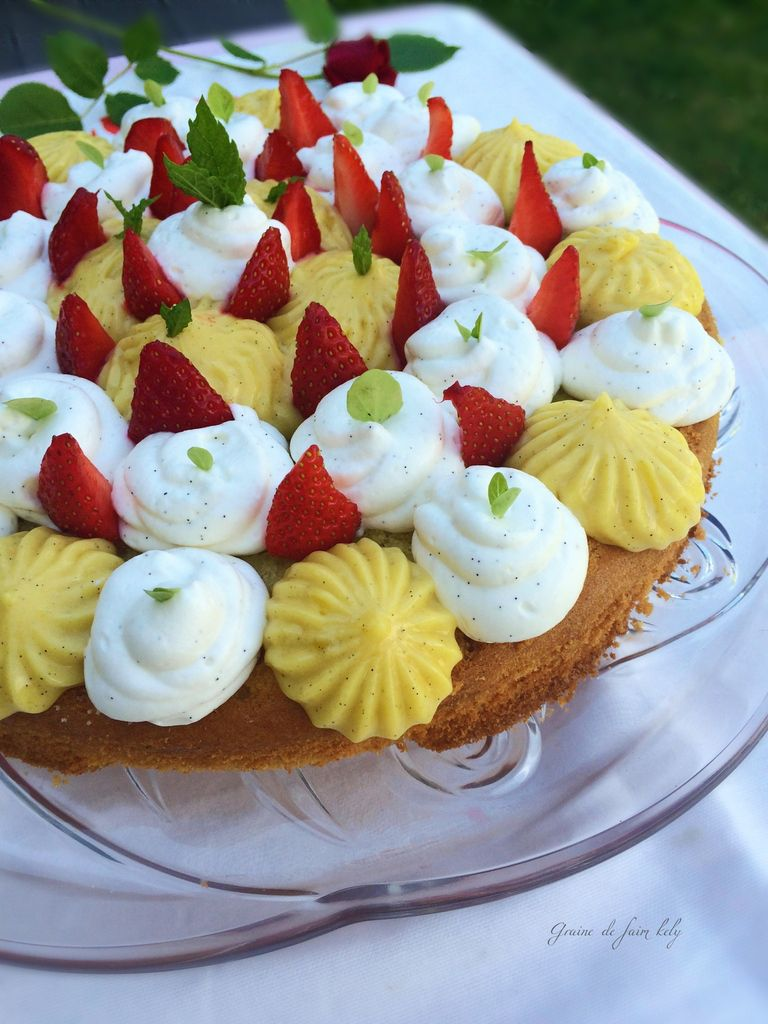 Fantastik citron, vanille, fraises