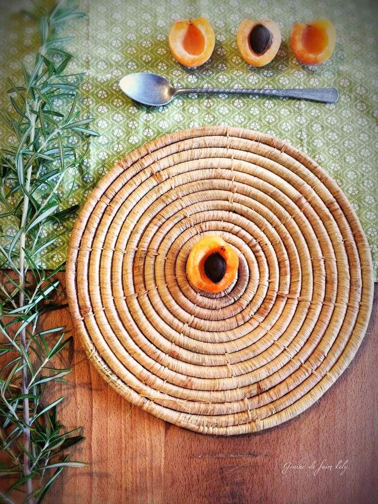 Confiture d'abricots à la vanille de Madagascar