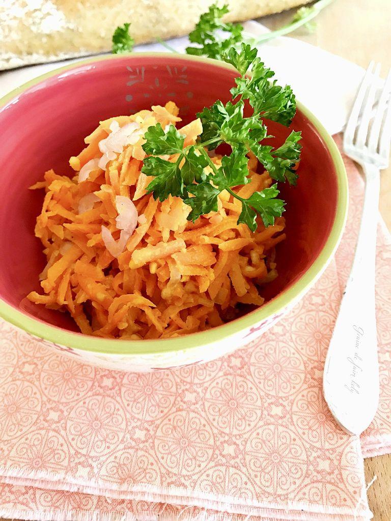 Rillettes de carottes aux cacahuètes pilées