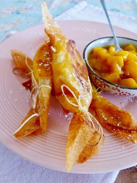Bonbons de mangue vanille-coco