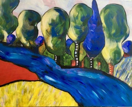 la rivière: Saint-Jean de Matha