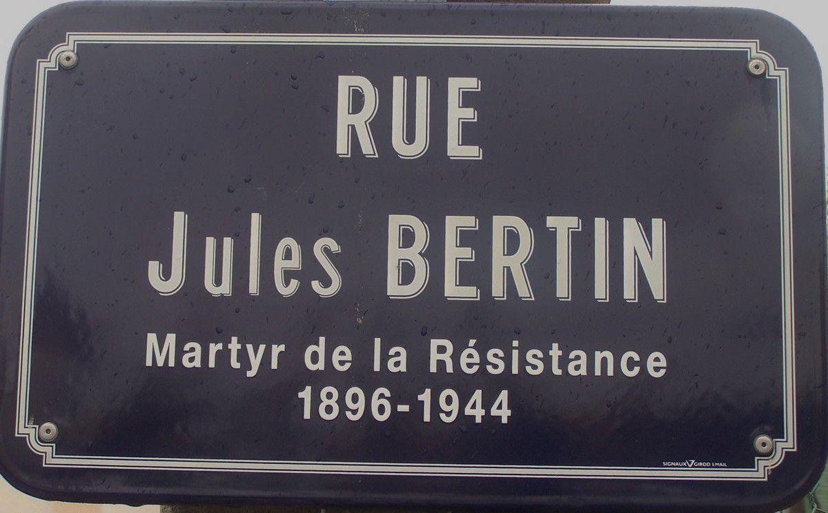 Rue Jules BERTIN à Gannat