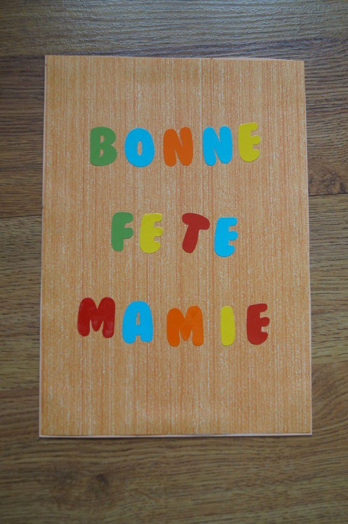 Bonne fête Mamie ( 2018 )