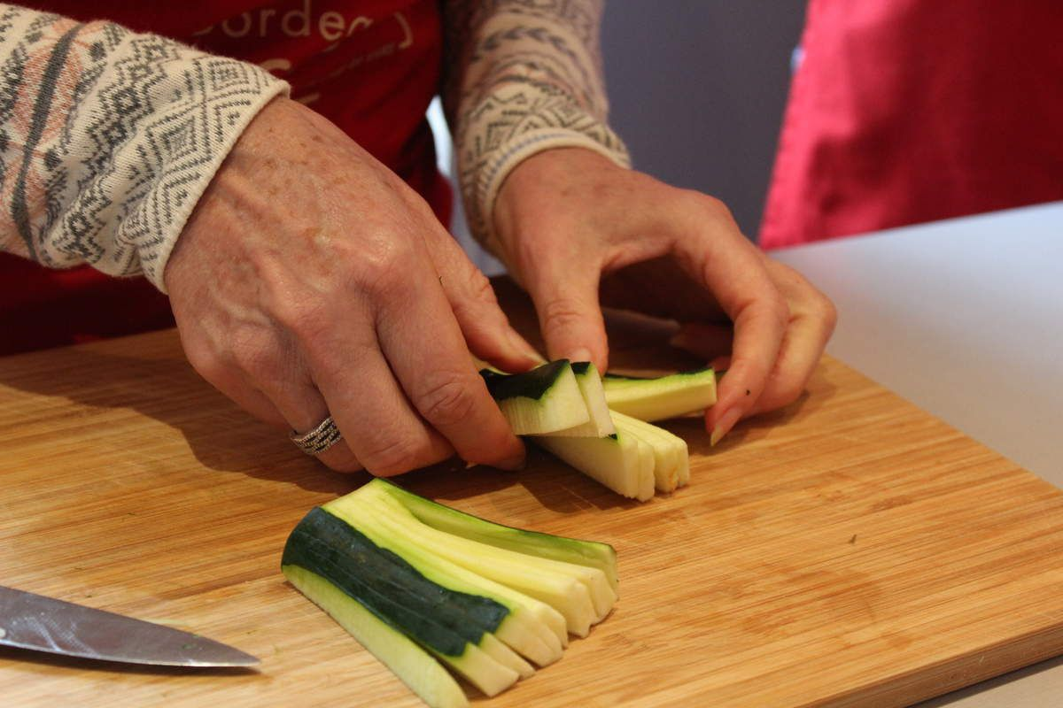 Les cours de cuisine multigénérationnels d'Olivier