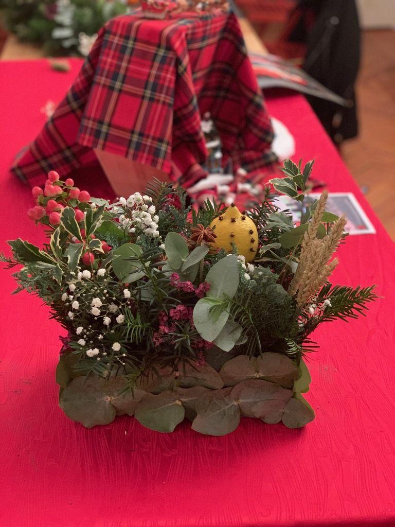 Les couronnes d'agrumes de l'atelier des filles