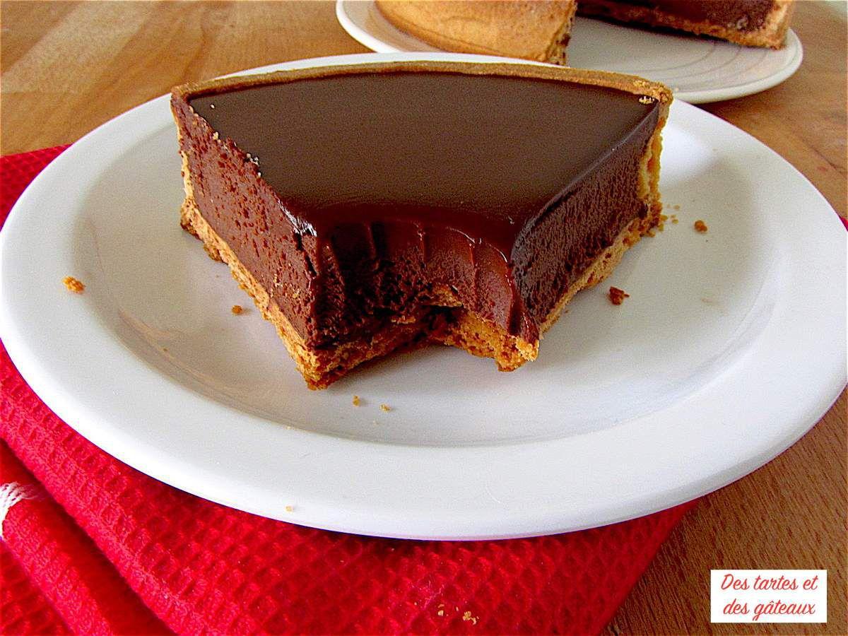 Tarte au chocolat de Jacques Genin