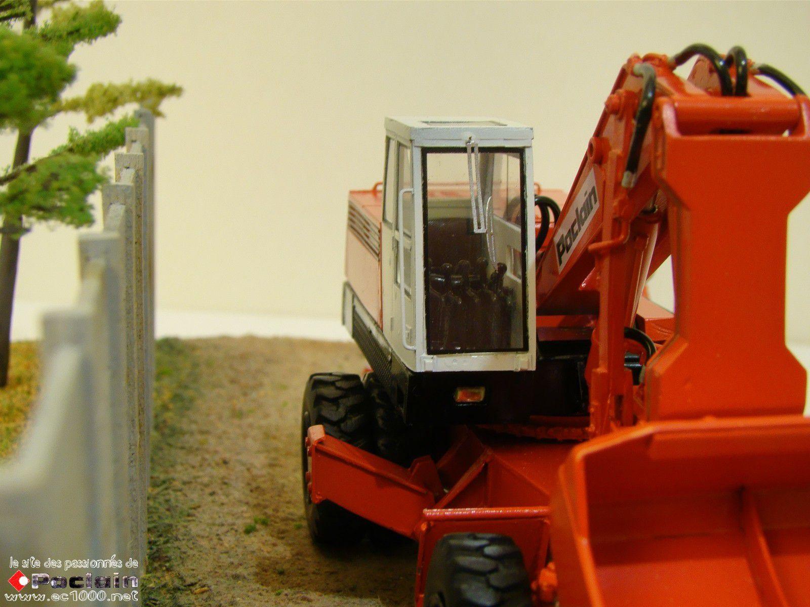 GY 120 , équipement butte