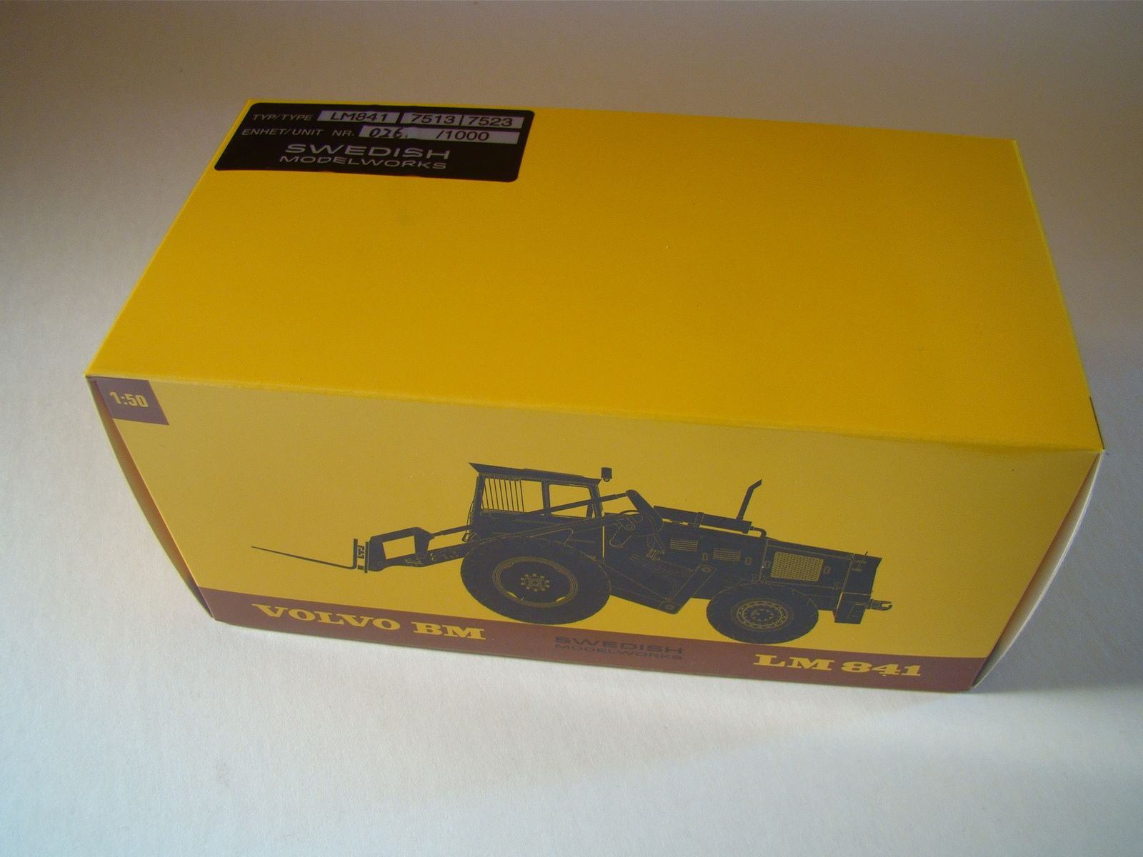 Volvo LM841, 1/50