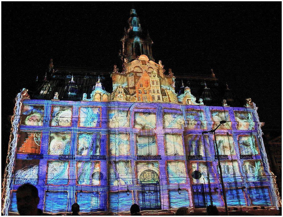 Roubaix : un mapping captivant raconte cinq siècles d'histoire de la ville