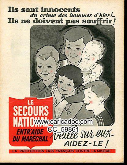 1941 Seconde Guerre mondiale Collaboration Vichy