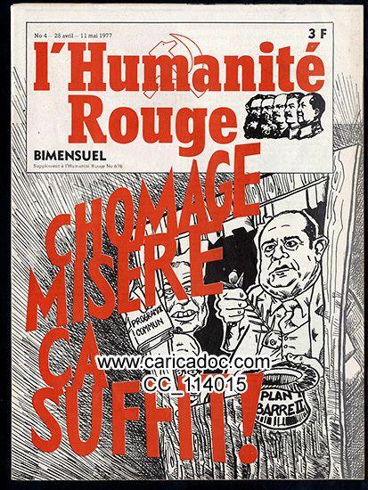 L'Humanité rouge, 11/5/1977.