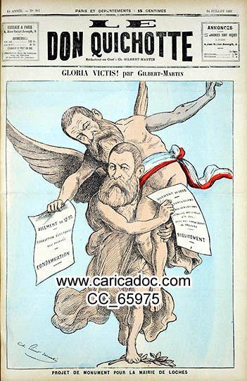 Le Don Quichotte, de Charles Gilbert-Martin