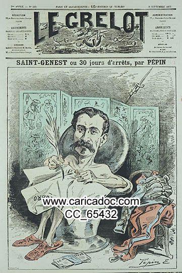 Le Grelot, fondé en 1871, avec Bertall, Alfred Le Petit, Pépin, Gravelle, ...