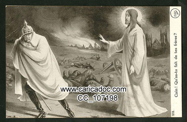Foi religion jésus Grande Guerre 1914-1918 14-18 prière avec maria pater des poilus