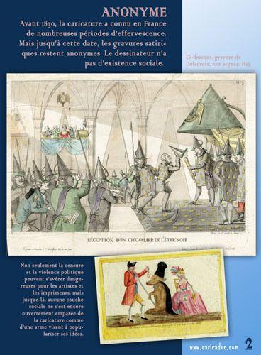 Le dessinateur de presse, de Daumier à Charlie : exposition à imprimer