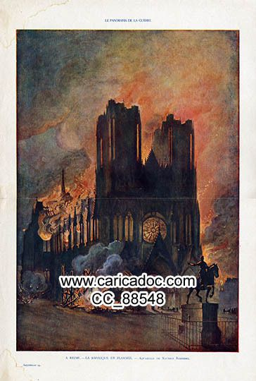 Cathédrale de Reims 1914