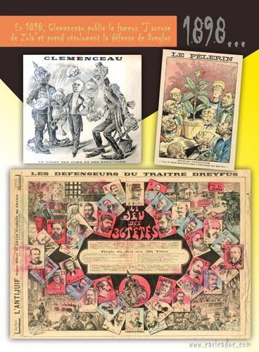 Georges Clemenceau [caricatures] : exposition à imprimer