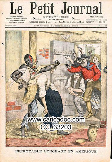 Images du Noir, noirs, négritude racisme, lynchages, xénophobie - Schwarzer, Rassismus - Black, racism