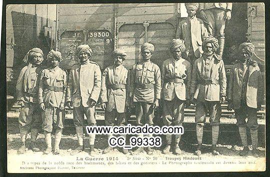 Soldats indigènes, tirailleurs sénégalais et autres - Eingeborene Soldaten, Kolonialtruppen - 14-18 Native soldiers, skirmisher, UNIQUMENT 14-18