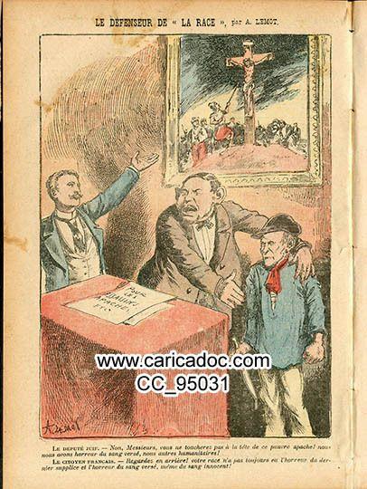 Antisémitisme, caricature antisémite, image antisémite, images antisémites, placards antisémites, cartes postales antisémites