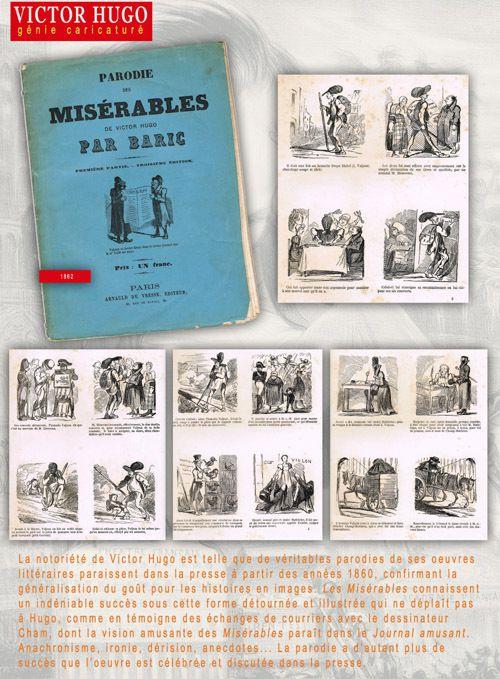 Victor Hugo, génie caricaturé : exposition itinérante à imprimer